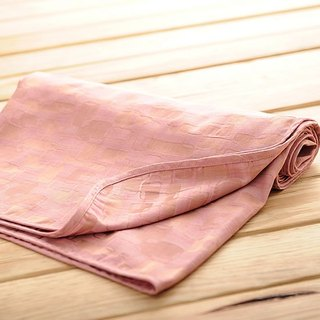 [KAKIBABY] patent natural persimmon dyeing - new facelift! Cool and breathable anti-mite good sleep blanket -150x100cm (pink box)