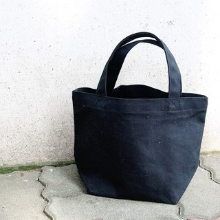 Canvas tote-Black