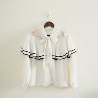 Spend vintage | Nippon sailor embroidered shirt