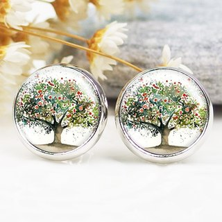Apple Tree - Clip-on Earrings/Auricular Earrings/Fashion Accessories [Special U Design]