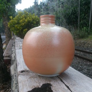 [Tim-old Snake Kiln firewood kiln] round bottle