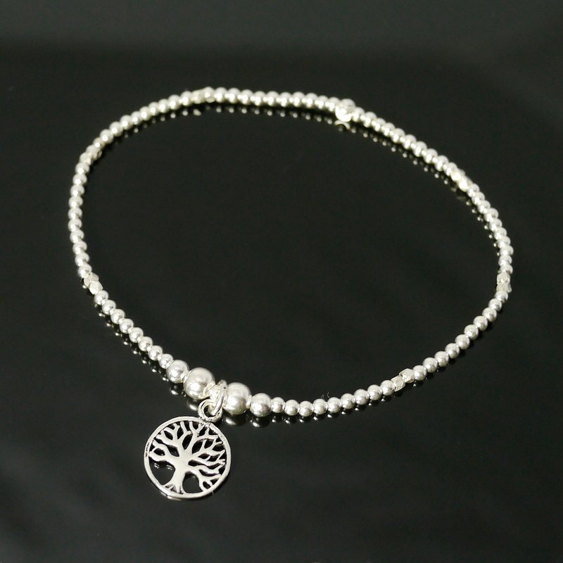 [Tree of Life] ColorDay 925 sterling silver bracelet