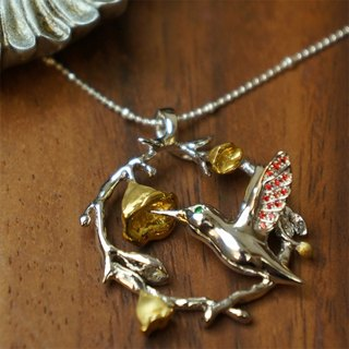 *ONLY ONE*♦ NINA SHIH JEWELRY ♦ Bees :: Sterling Silver Mercury necklace
