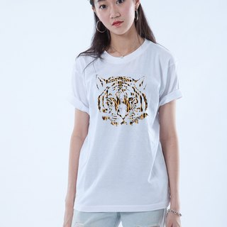 "Icarus ICARUS original fashion design short TEE ANIMAL animal series - ""TIGER Tiger"""
