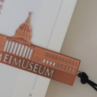 Good co-metal bookmarks Chi Mei Museum Garden - Rose Gold