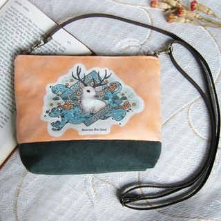 <Animals in the secret land> As the Deer / messenger bag / satchel bag / shoulder bag