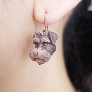 Stereo Print ~ Snark Dog Earrings