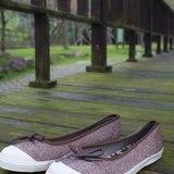 TREE 咖啡人字紋 (剩下JAP23.0=EUR36) 娃娃鞋款/帆布鞋/懶人/休閒鞋 國民休閒鞋台灣良品 Southgate 南登機口