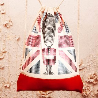 [Diamond] GFSD Collectibles - carrying flags to travel from the United Kingdom [horn] Backpack