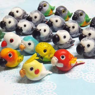 Pet Doll 1-2cm ( bird ) pure doll mobile phone strap dust plug