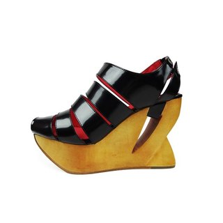 A Season for Murder / FIGHT BACK / Black Leather Wedges