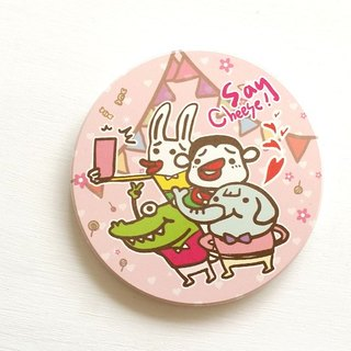 1212 fun design ceramic water coaster - Party Life