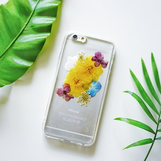 Pressed Flowers Phone Cases - Jasminum nudiflorum Collection for iphone 5/5s/SE/6/6s/6 plus/6s plus/7/7plus/Samsung S4/S5/S6/S6Edge/S7/S7Edge/Note3/Note4/Note5