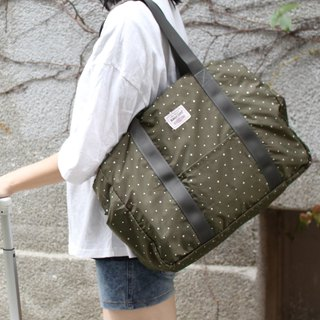 (Mercerized series) Fanny Travel Bag-Army_100420-51