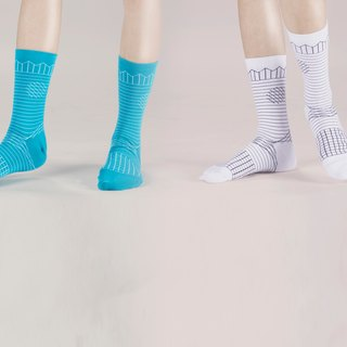 Buy two get one free promotions / A PINCH OF OFFBEAT geometric socks socks socks boys socks girls socks designer socks produced in Malaysia