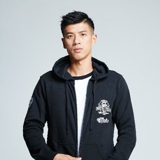 [Spokesman topic ° #MoreThanAGame] male models tide Patch Jacket