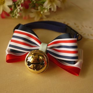 [Christmas] limited safety collar pet collars x UK wind. Golden bell cats and dogs / Collar / tie / Jojo ♥ cherry pudding Cherry Pudding ♥