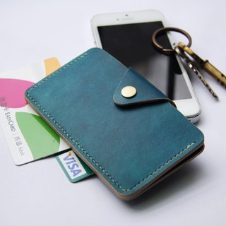 Key card holder / Cozy Leather Works