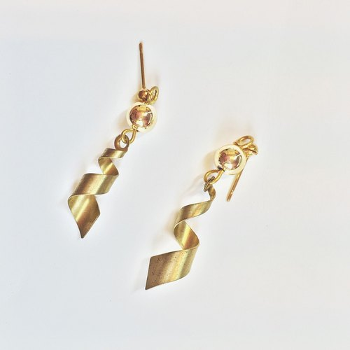 Marygo ﹝ rotation ﹞ Gold earrings