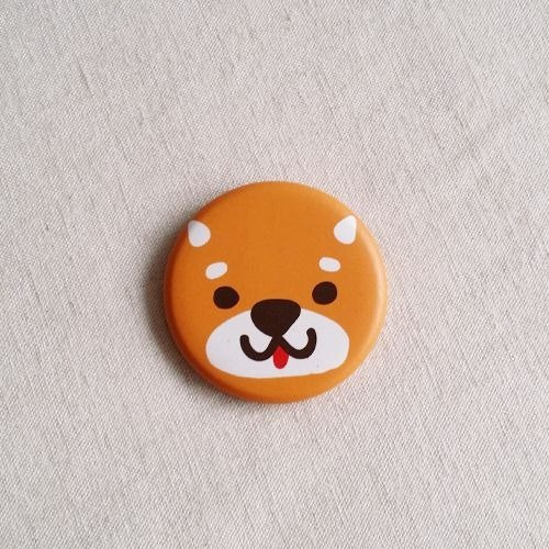 1212 play Design funny badge - Shiba came