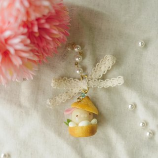 ☆ Sweet Dream ☆ local flavor vanilla cream puffs little bunny / phone dust plug