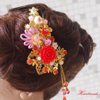 Chinese wedding hair comb