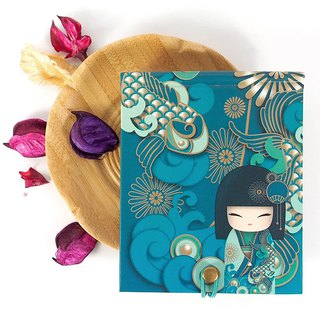 Notepad 85 pages with mirror - Yoshiko happiness and joy [Kimmidoll notebook / diary]