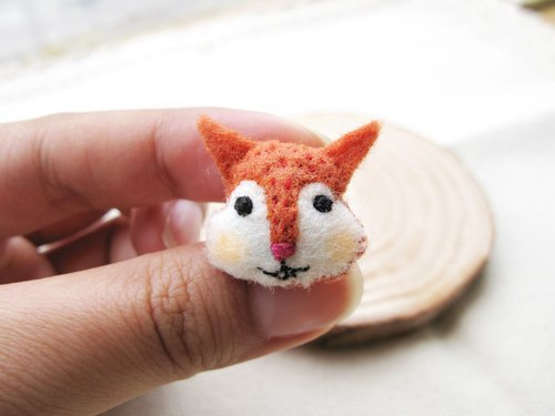 Mini squirrel badge / badge