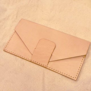 Little things} designer leather Hand-made: Envelope Series _ long _ accepted custom folder