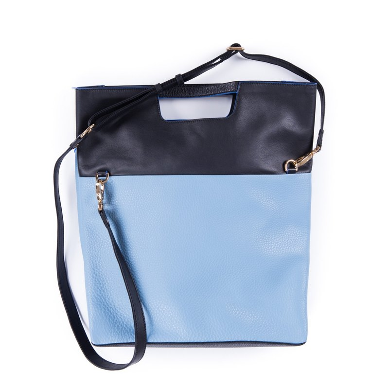 Patina leather handmade Fabienne shoulder bag · handbag
