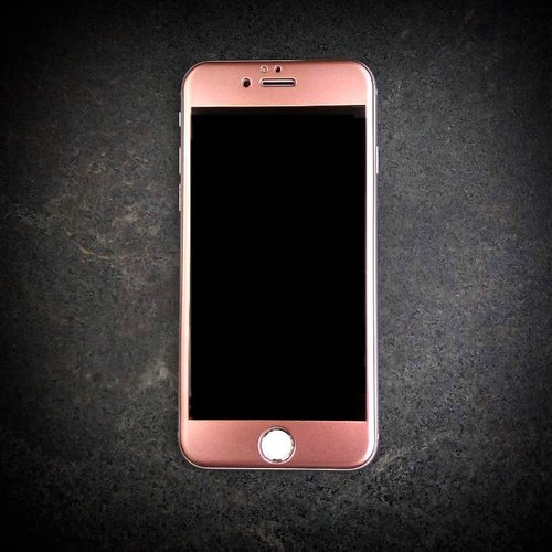 Flame cherry pink gold limited phone full screen protectors