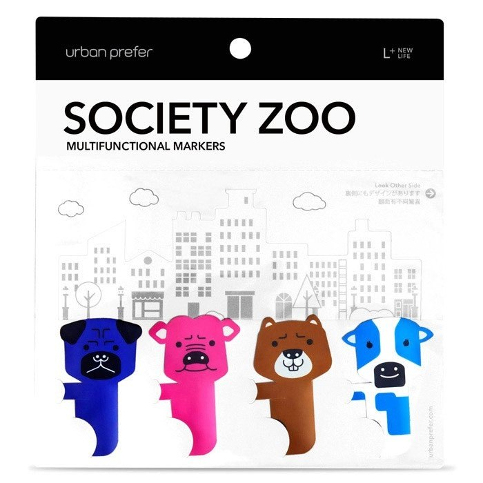 society zoo versatile label - Type3