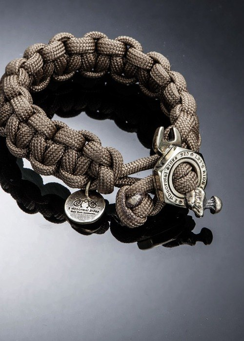 Nut Wrench Paracord Survival Bracelet | 螺帽板手求生手環(銅)