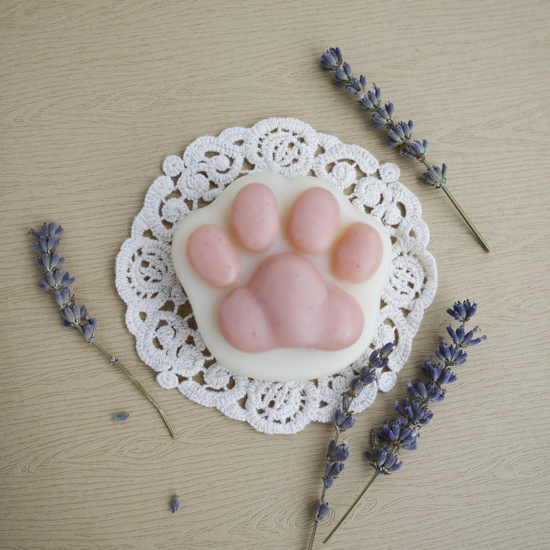 Shea Butter Cat Paw Soap (For Body) - Lavender