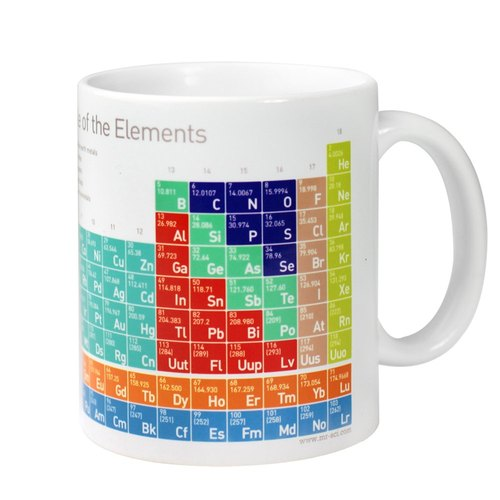 Mr.sci science factory/Science Mug-Periodic Table