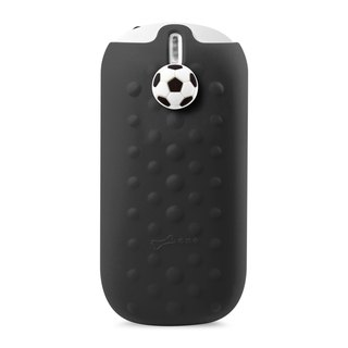 Power button action 5200mAh- funny football - Black