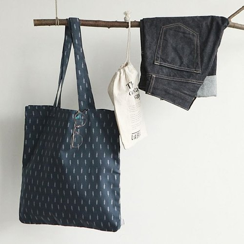 Dailylike-Eco bag Nordic Green Tote-12 feathers, E2D21582