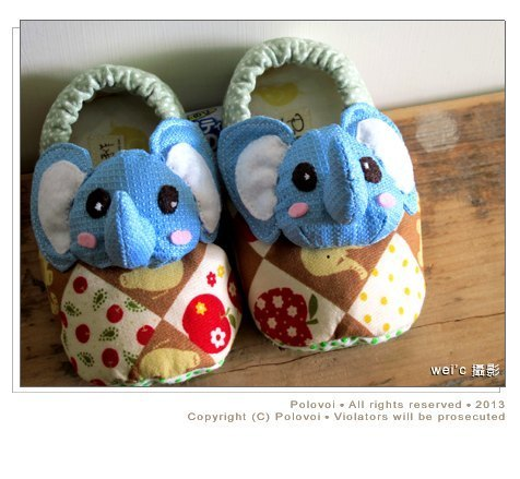 [Pure hand-made] a happy elephant park / small Baoxie