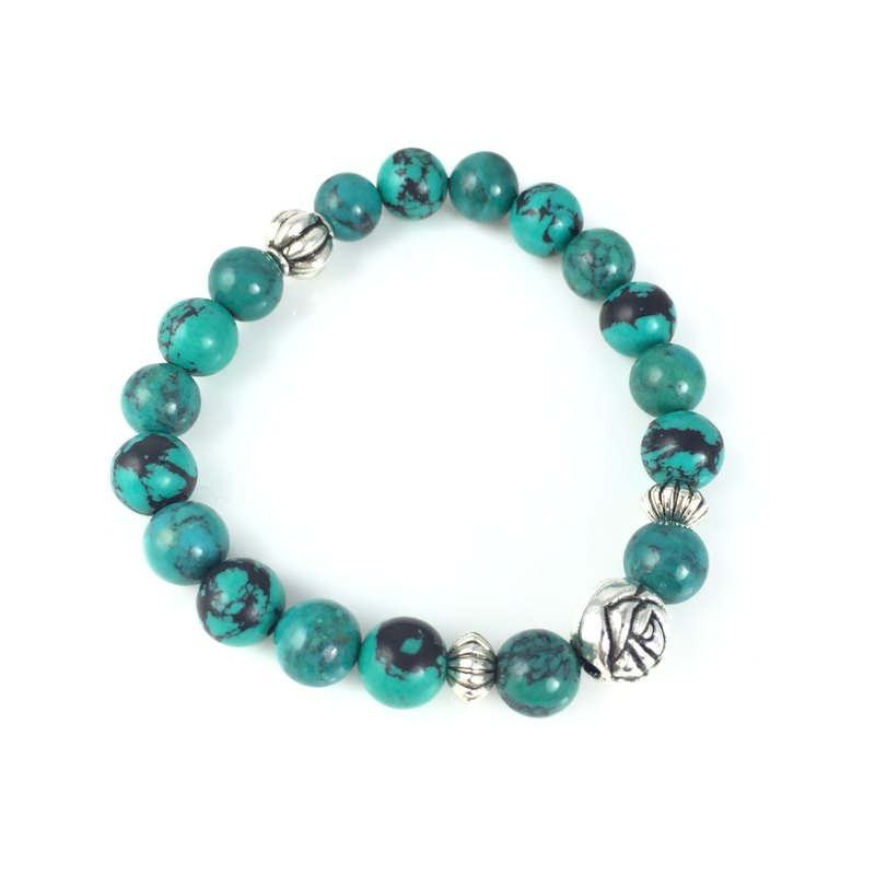 """Optimized turquoise x silver rose"""