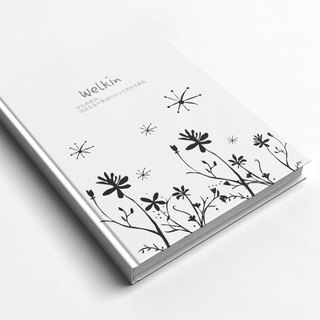 Rococo Strawberry WELKIN Handmade _ handmade book / notebook / PDA / diary-spring grass