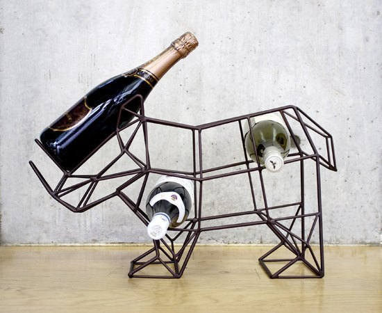 Rhinoceros wine rack