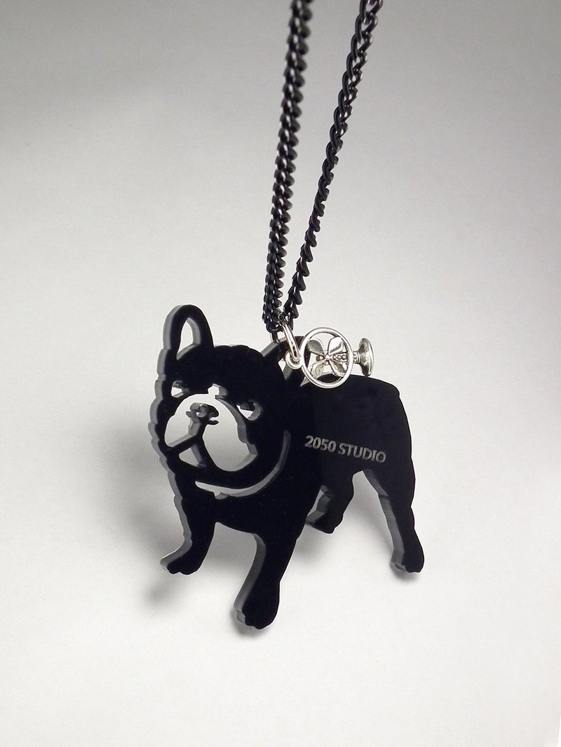 Lectra duck ▲ dog to the rich (standing law bucket) ▲ necklace / keychain