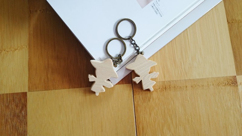 Scarecrow key ring