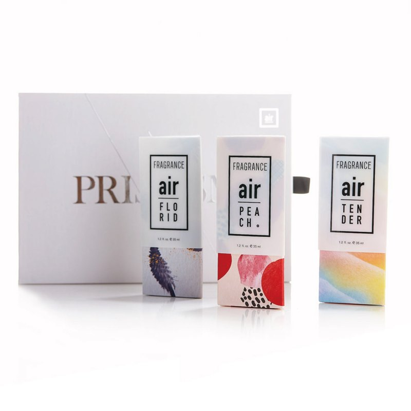 [Deluxe Gift Set] Air Fragrance – Juicy Peach + Elegant Floral + White musk