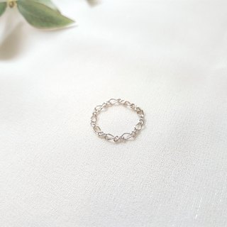 Reverse the bare chain ring