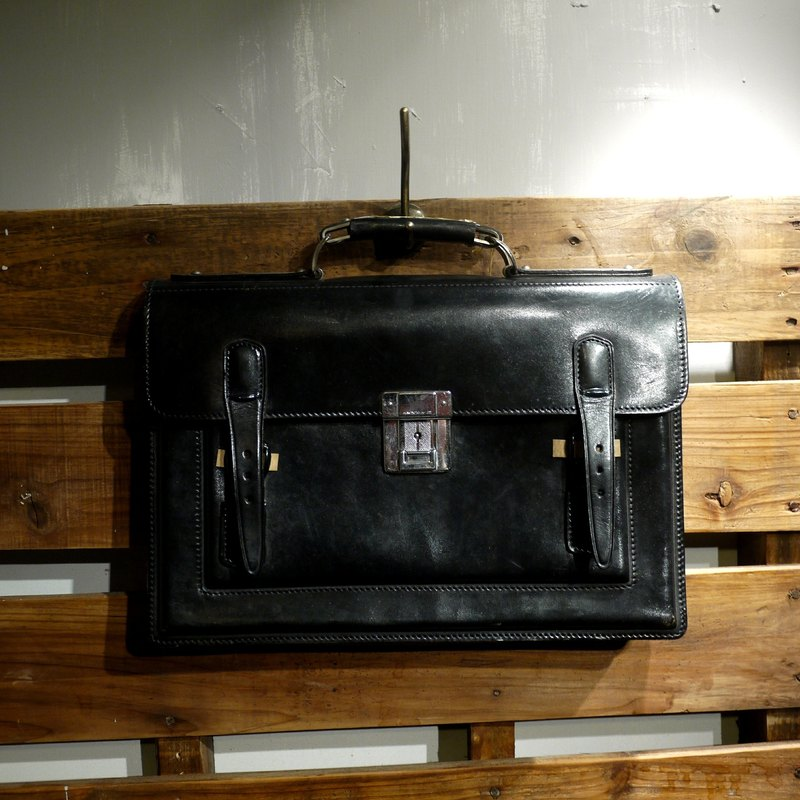 Skarn Shika // Vintage bag new Japanese Pao Association HINOMOTO.H-27. Classic Portable official bags {A3-003}