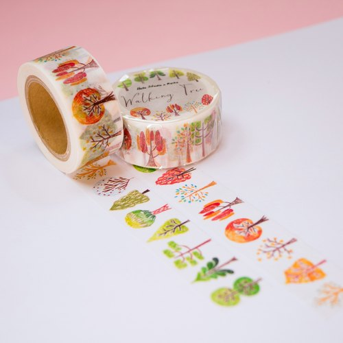 Look at the tree to │Walking Tree paper tape