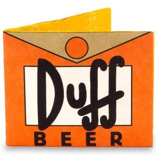 Mighty Wallet(R) 紙皮夾_ Simpsons Duff