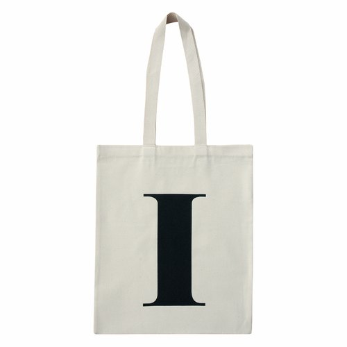 Alphabet Bags Tote letter [I] (the UK / free shipping)