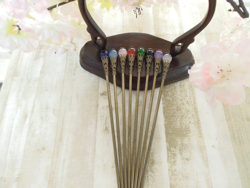 """Gordon Court"" classical temperament Chinese style hairpin - Su Rui"